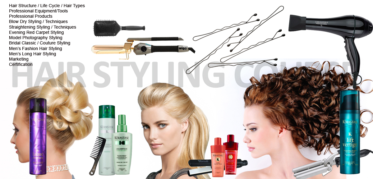 Hair Styling Course and Classes  Michael Boychuck Online Hair Academy