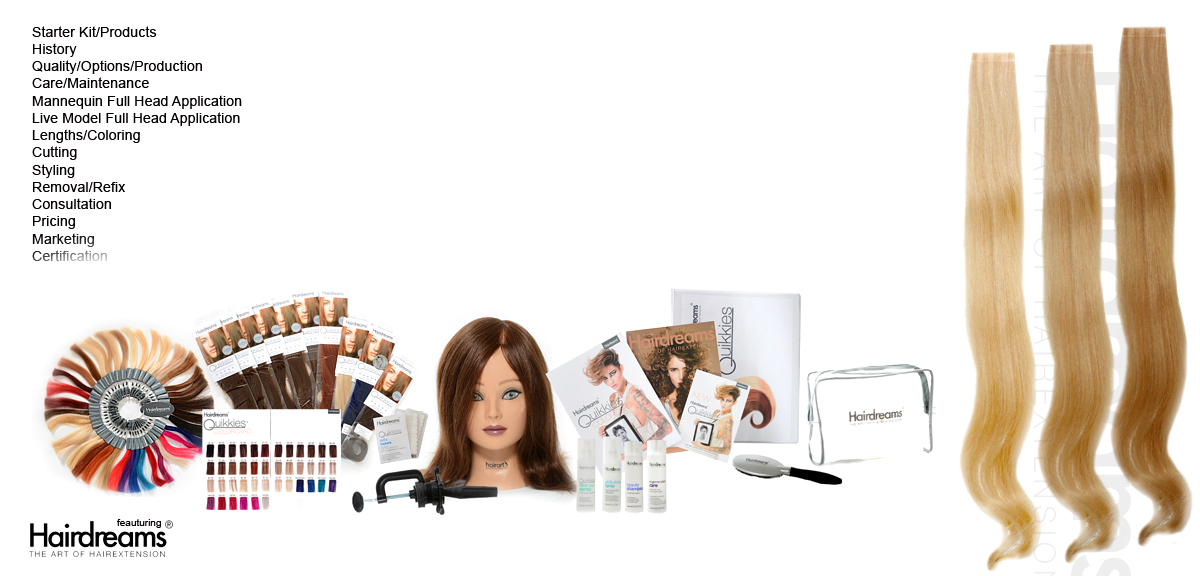 Quikkies Hair Extension Course Michael Boychuck Online Hair
