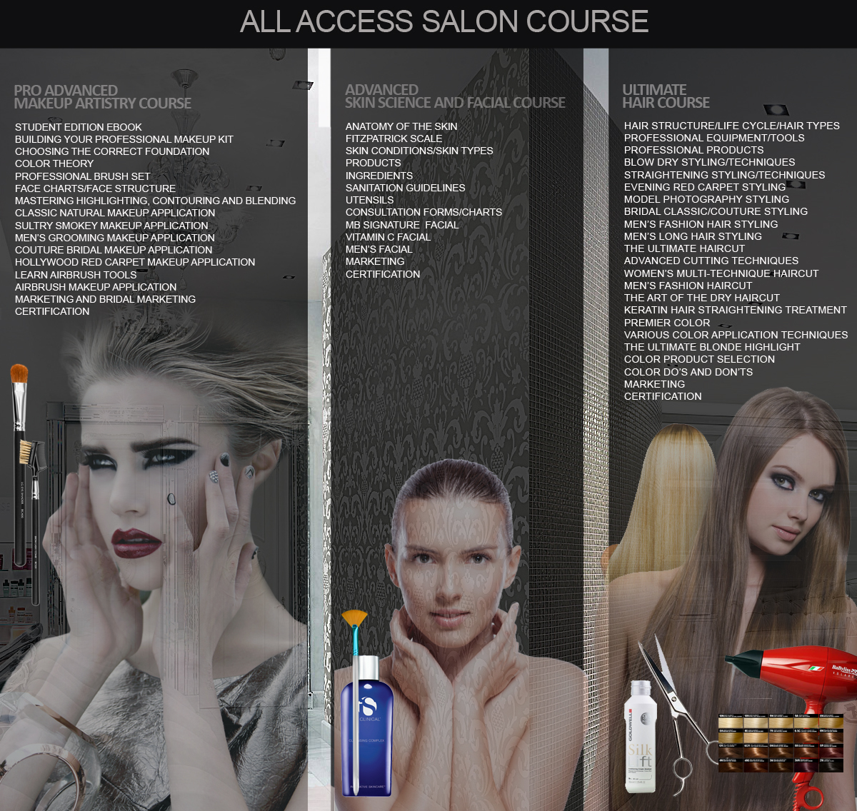 All access salon course