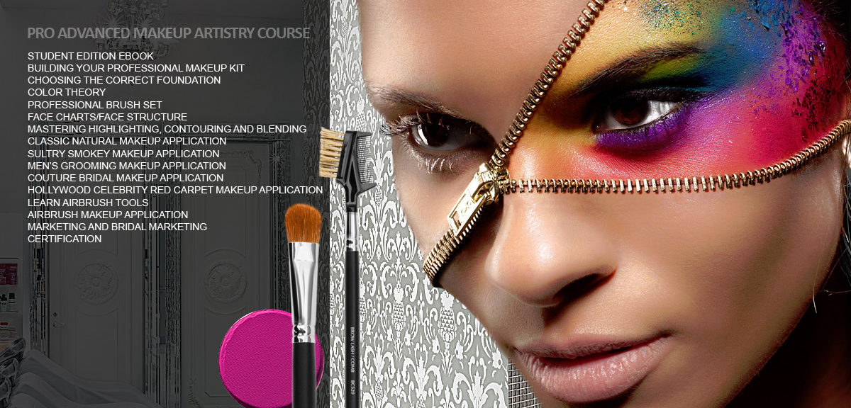 Pro advanced makeup artistry course