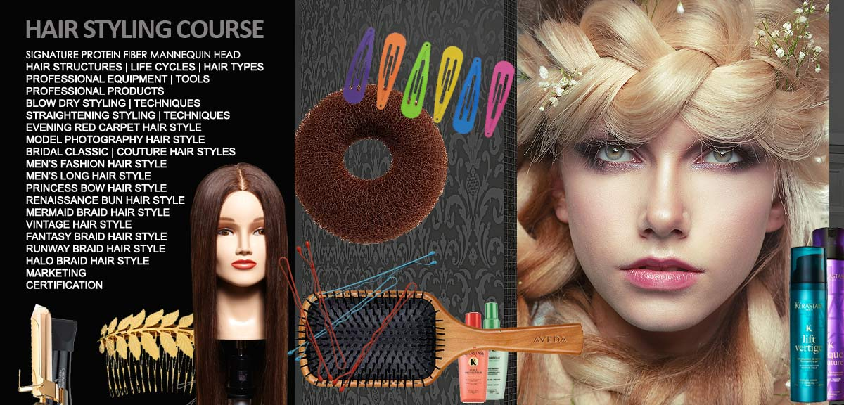 Online Hair Styling Course Beauteous Hair Styling Course And Classes Online  Michael Boychuck Online .